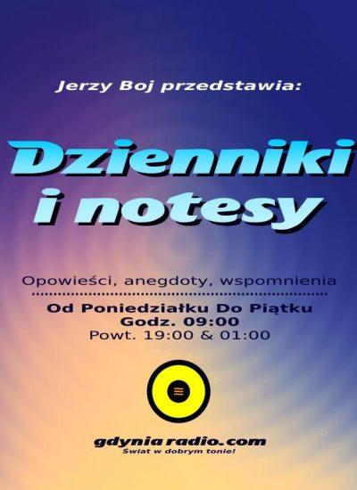 Gdynia Radio - Dzienniki i notesy -2019 - Jerzy Boj