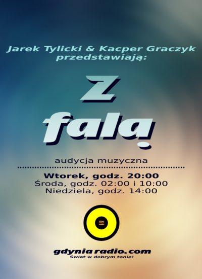 Gdynia Radio - Z Fala - 2018 -2- Jarek Tylicki i Kacper Graczyk a