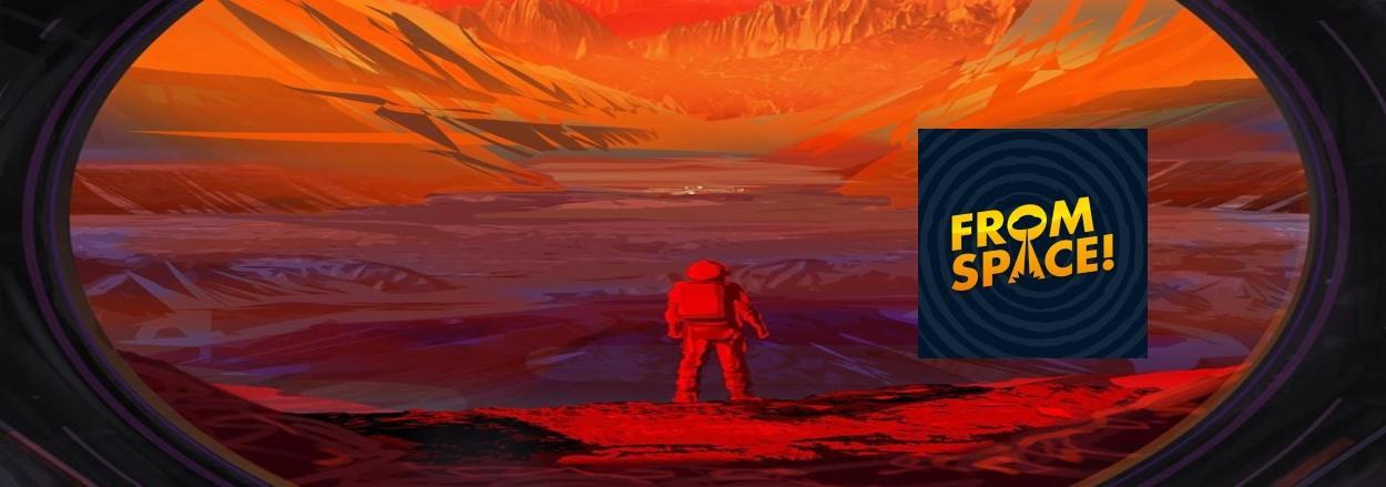 baner - Cyprian Czerwinski - From Space - Szmery z kosmosu - 800x282